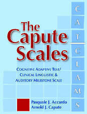 The Capute Scales: Cognitive Adaptive Test and Clinical Linguistic & Auditory Mi