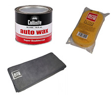 Collinite 476s Super Doublecoat Wax 18oz + Autoglym Applicator & Microfibre