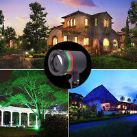 Star Sky Light - Projector Red & Green Shower Outdoor Laser Light Show Xmas KZ