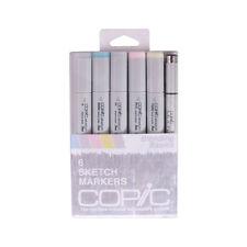 Copic Sketch Marker 6 Color Set Blending