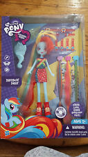 My Little Pony Equestria Girl Rainbow Dash Extra Long Hair with Multi hair extra