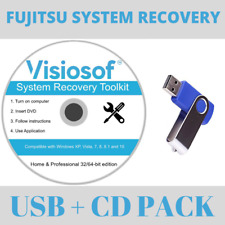 System Recovery Boot USB DVD Disc Repair Restore Tech Support