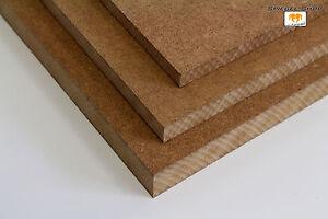 Ma/ße 1100x400mm Sonderma/ße. 25mm starke MDF Platten Holzplatten