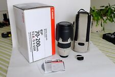 CANON EF 70-200 mm f/2.8 L IS USM II Lens-Near Comme neuf condition