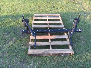 "Smithco Sand Trap Rake - Sand Star Series 56"" Infield Scarifier w/ Guage Wheels"