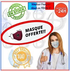 🌟Lot de Support Masque 3D Silicone idéal pour mieux respirer (Adulte) 🌟JC