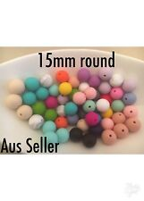 Silicone Beads Wholesale 50 Pack 15mm Round Australia Was Teething DIY Necklace