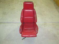 Leather Sport complete Seat  1984 1985 1986 1987 1988 C4 Corvette Red