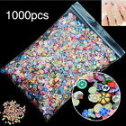 1000* Nail Art Mix Design Fimo Slices Polymer Clay Stickers Decoration Manicure