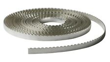 Fine Silver (999) Flat Scalloped Bezel Strip Wire (Soft)