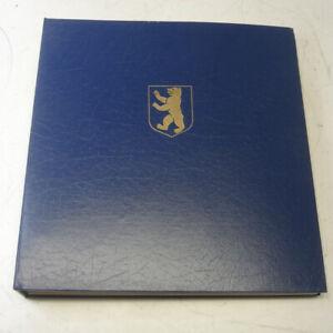   Sammlung Berlin gestempelt 1955 - 1990 im Schaubek Schraub-Binder