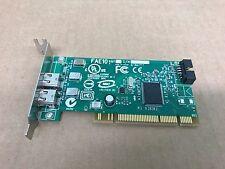 Dell 0J886H Low Profile 2 Port & Internal Header PCI Firewire Card FAE10 AM1