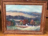 """Wonderful Pennsylvania Impressionist """"New Hope School"""" Oil Painting,c.1920-1930s"""