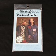 Vintage Patchwork Jacket Pattern and Instructions by Yours Truly 1980 #3737