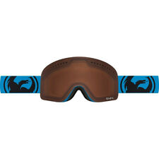 Dragon Alliance NFXS Ski Goggles Blue Orange Amber Bonus Yellow Lens