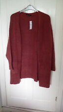 BNWT - Yours Clothing Rusty red boyfriend cardigan, size 20, RRP £23.99
