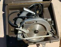 "Vintage Sears Craftsman Electric 7"" Circular Hand Saw"