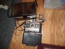 Vintage Polaroid Model Automatic 450 Land Camera Self Timer Untested w/Flash