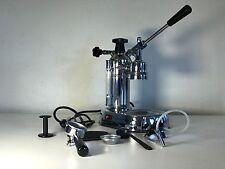 La Pavoni EPC-8 8 Cups Espresso Machine Chrome w/ extras 120v