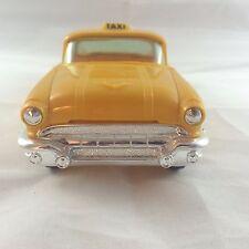 Vintage Johan Model 1956 Pontiac Yellow Taxi - Dealer Promo Car