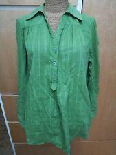 Lovely Promod Top Shirt - gorgeous green long sleeves oversize medium