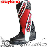 DAYTONA SECURITY EVO OUTER BOOTS BLACK WHITE RED - INNER AVAILABLE SEPERATELY