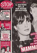 1984 01 06 - STOP - N.1840 - ANNO XXXVIII - 06 01 1984 - CAROLINA DI MONACO