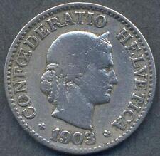 SWITZERLAND 10 Rappen 1903