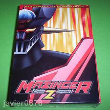 MAZINGER Z EDICION IMPACTO SERIE COMPLETA PACK NUEVO Y PRECINTADO 6 DISCOS DVD