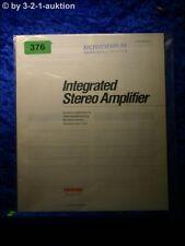 Sony Bedienungsanleitung TA F110 / F210 Stereo Amplifier  (#0376)