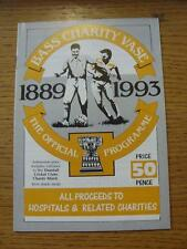 23/07/1993 Bass Charity Vase: Notts County v Derby County [At Gresley Rovers] &