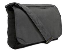 Mens Canvas Messenger Laptop Bag Boys School College Shoulder Bag Manbag