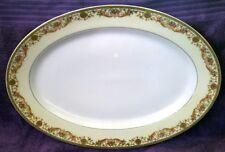 "Haviland ARCADIA 13"" Oval Serving Platter Cream Rim No Birds Schleiger 923"