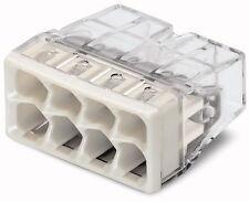 Wago 2273-208 8-Way miniature poussoir connecteur 50pcs Pack moins cher alors Screwfix