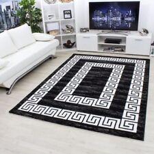 Tapis noirs pour la maison, 160 cm x 230 cm, provenance indiens