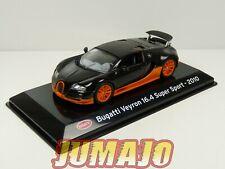 SC19 voiture 1/43 SALVAT Supercars : BUGATTI Veyron 16.4 Super Sport 2010