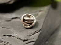 Chicer 925 Silber Anhänger Charm Bead Trollbeads Knoten LAA Sterling Endlos