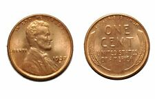 1937-S  Lincoln Cent - CONECA # DDO-001 Double die obv #1 Choice bu red  #753