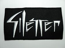 SILENCER     EMBROIDERED PATCH