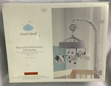 Crib Mobile Two by Two - Cloud Island - Gray-open Box