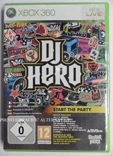 NEUF - jeu DJ HERO 1 sur xbox 360 en francais spiel juego italiano deutsch NEW