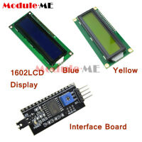 LCD Display Module LCM blue blacklight Character 1602 16x2 HD44780 3.3V 5V
