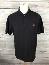 Para Hombres Camisa Polo Ralph Lauren Chaps-Tamaño Pequeño-Negro-Excelente Estado