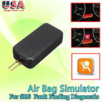 Car SRS Airbag Simulator Emulator Resistor Bypass Kit Code Fault Fix Diagnostic