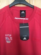 MEN'S ADIDAS T SHIRT SIZE L TEAM GB NEW WITH TAGS