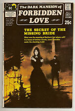 DARK MANSION OF FORBIDDEN LOVE #1 HIGH GRADE 9.0 VF/NM GOTHIC BRONZE  COMIC Rare