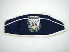 50er Requisite Burgberg-Seilbahn alte Kopfbedeckung blaues Schiffchen Kappe