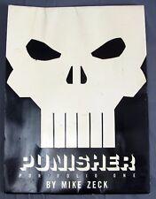 "1990 Marvel Comics Punisher Portfolio One 1 by Mike Zeck 6x Color Prints 12x16"""