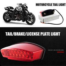 Motorcycle Bike 21LED Rear Tail Brake Stop Lamp & Number Plate Light For Honda