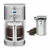 Cuisinart DCC-3200W 14C Glass Carafe Programmable Coffeemaker and Canister